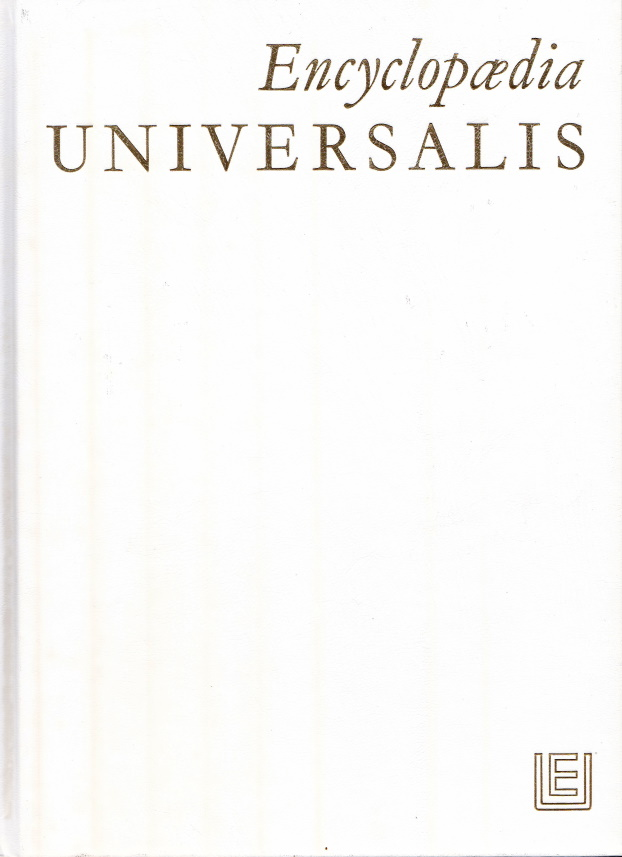 Encyclopaedia Universalis Corpus 20