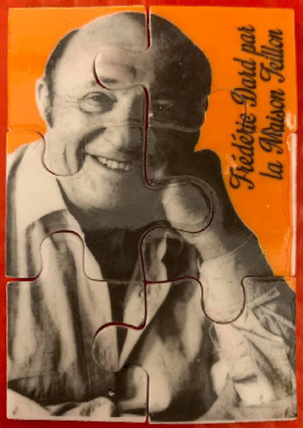 Mini puzzle Frédéric Dard