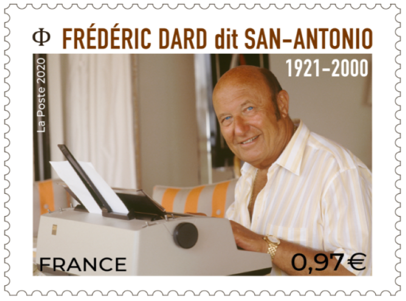 Timbre Frédéric Dard 2020