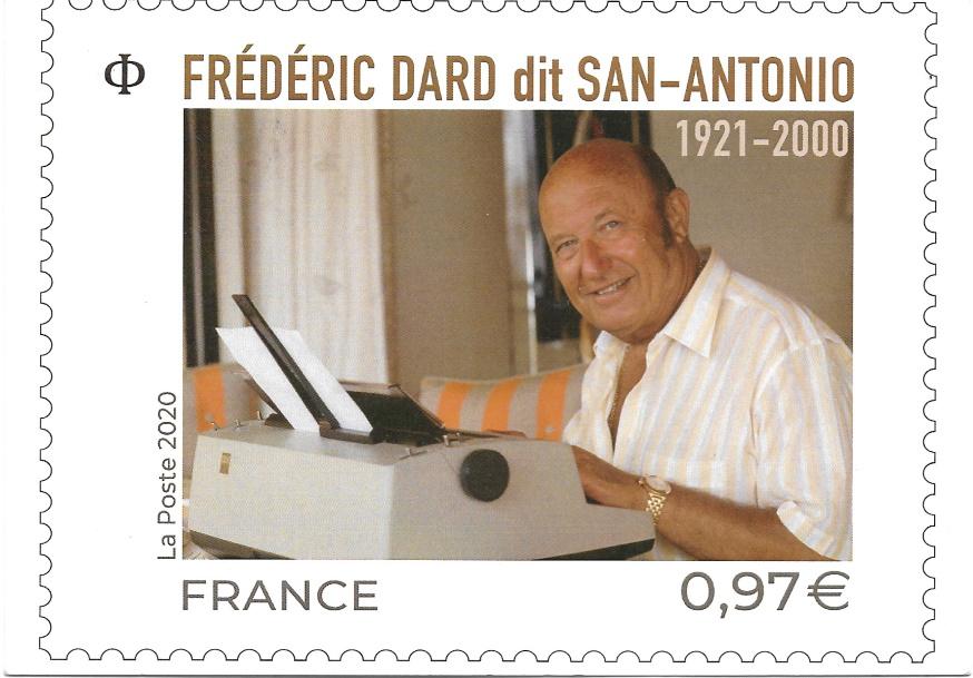 Carte Postale Frédéric Dard Fleuve Noir