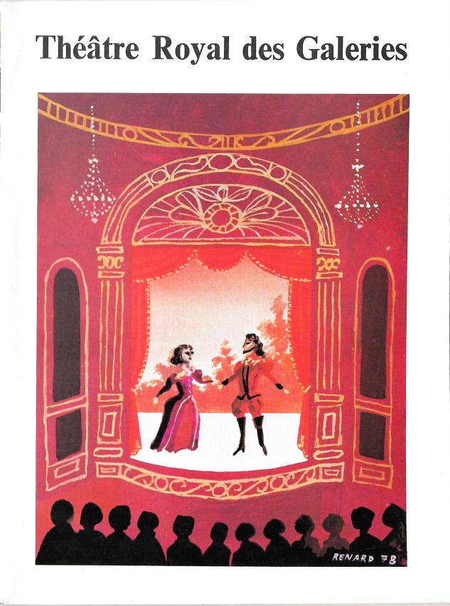 Programme Le cauchemar de Bella Manningham Théâtre Royal des Galeries