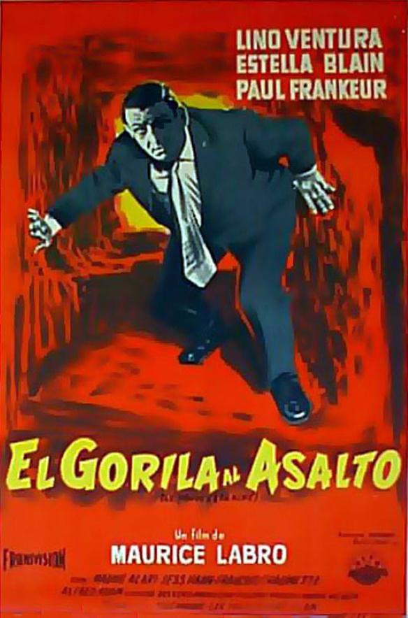 Affiche argentine Le fauve est lâché 70 sur 100 cm
