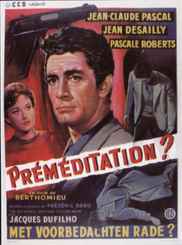 Affichette belge Premeditation