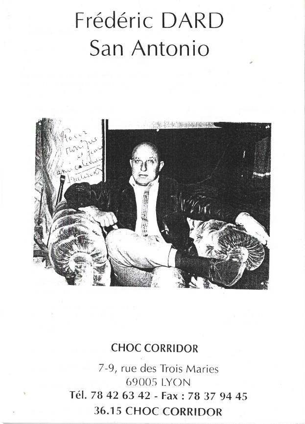 Catalogue Choc Corridor 1993