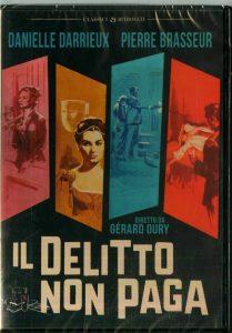 DVD italien Le crime ne paie pas