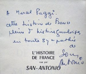 Envoi Marcel Paggi San-A_Histoire_de_France