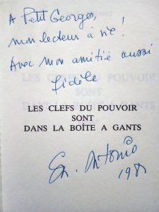 Dedicace Petit Georges San_A_Cles_du_Pouvoir