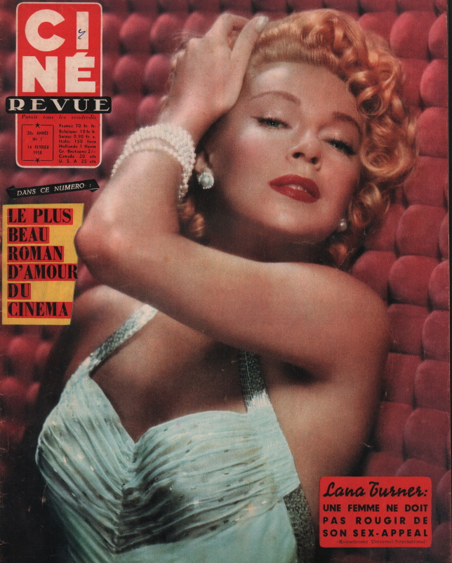cine revue nr 7 du 14 février 1958