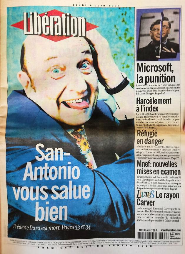 Libération n°5928 - 8 juin 2000