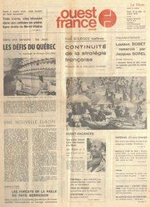 Ouest-France_10_11_juillet_1976_Une
