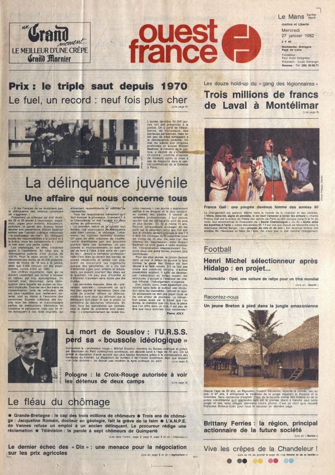 Ouest-France_27-janvier-1982_Une