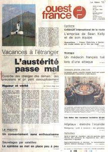 Ouest-France_28-mars-1983_Une