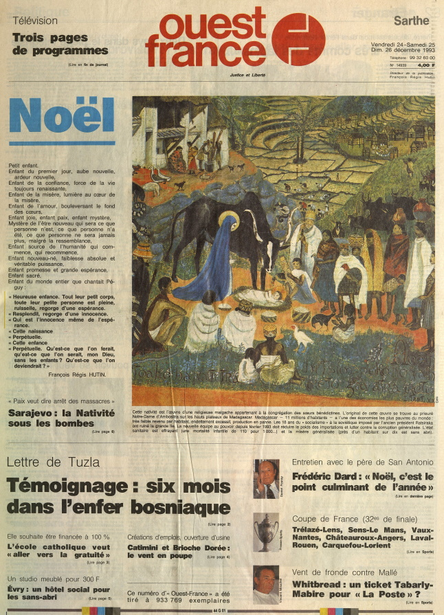 Ouest-France_Une_24-25-26-décembre-1993
